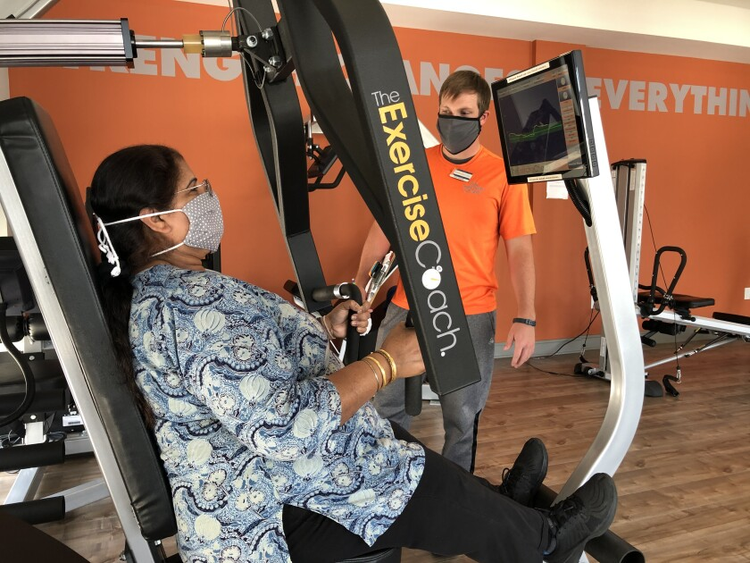 Exercise Coach has opened a location at 9820 Willow Creek Road., Ste. 103, San Diego, serving the Scripps Ranch area.