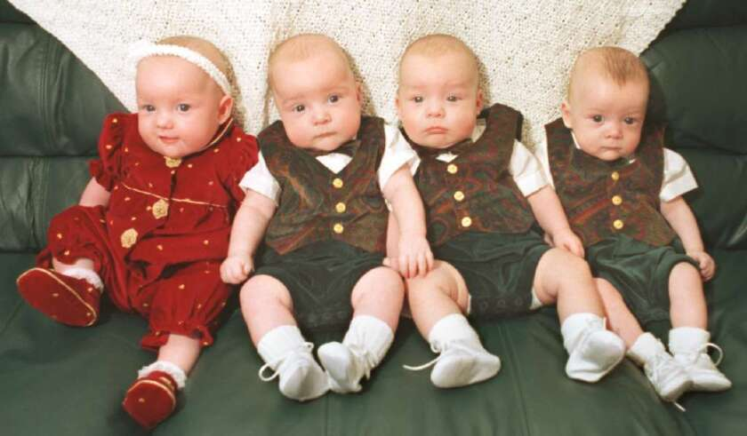 Births of triplets, quadruplets and higher-order multiples have fallen dramatically since fertility doctors changed their practices for IVF, a new study says.