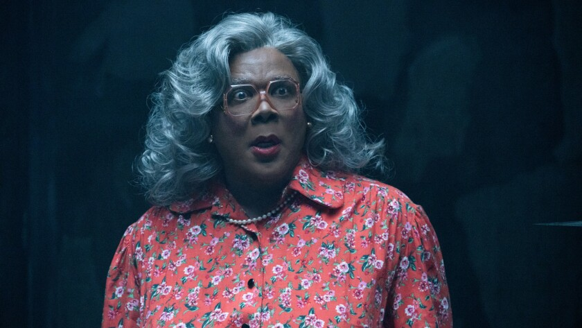 "Tyler Perry as ""Madea"" in Tyler Perry's Boo! 2 A Madea Halloween. Photo by Chip Bergman."