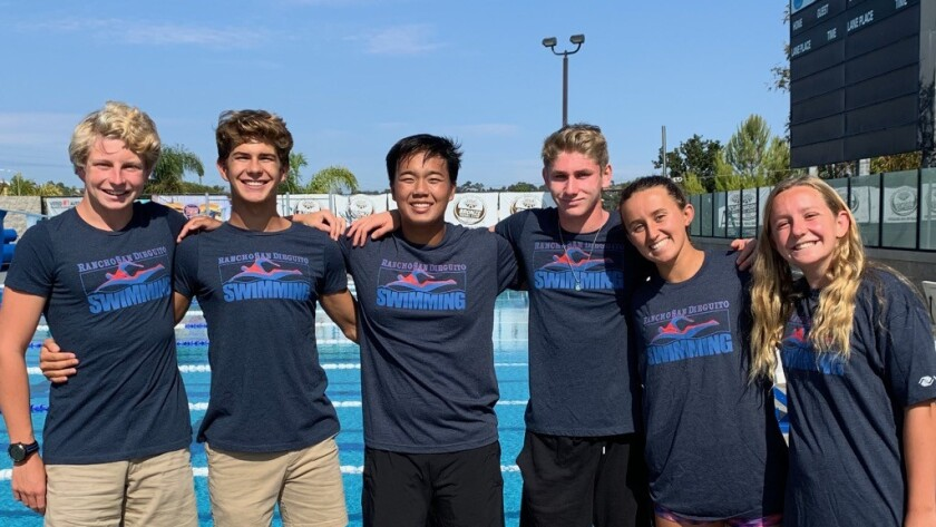 The Channel Chasers (from left): Drew Schmidt, Mason Morris, Kyle Wong, Robbie Andrews, Taylor Lyon and Revere Schmidt.