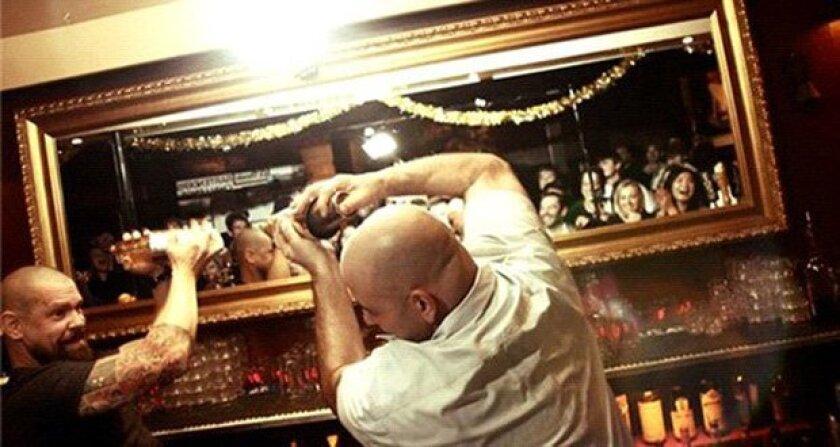 El Dorado's 3rd annual Bartender Challenge took place Tuesday night -- courtesy photo