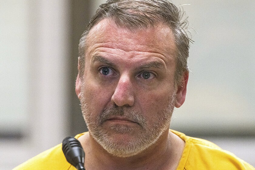 Brian Steven Smith is arraigned Oct. 9 on a murder charge in Anchorage.