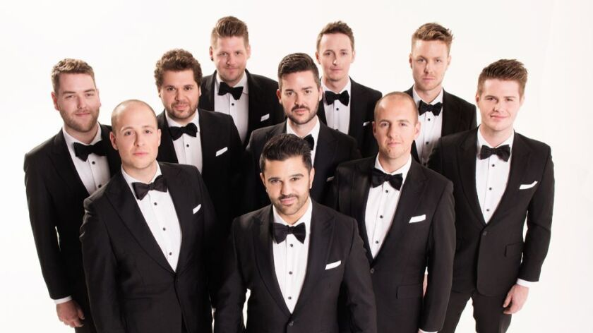 The Ten Tenors, one of Australia's most successful touring groups, will perform at Balboa Theatre in San Diego.