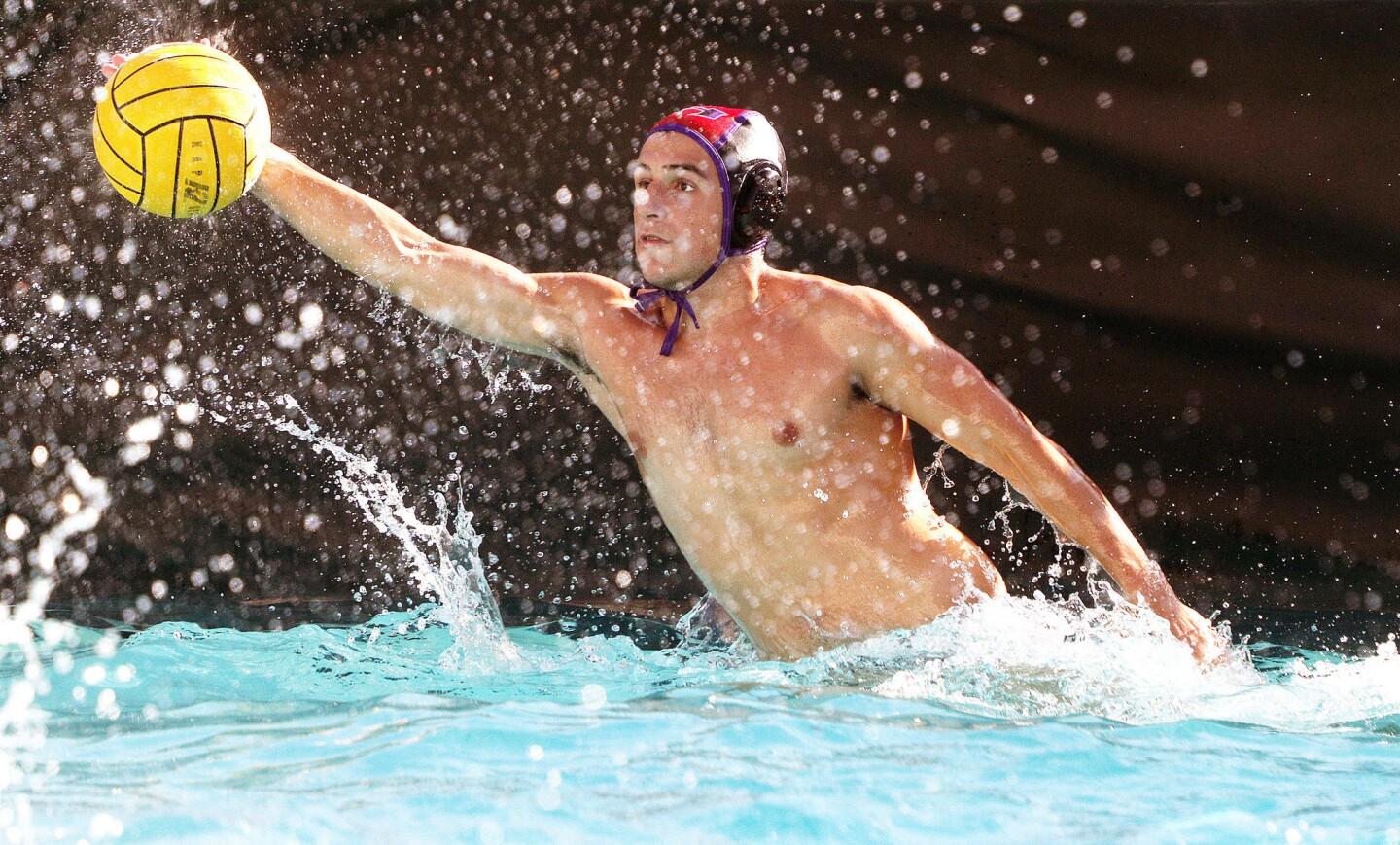 Photo Gallery: Hoover vs. Burroughs in Pacific League boys' water polo