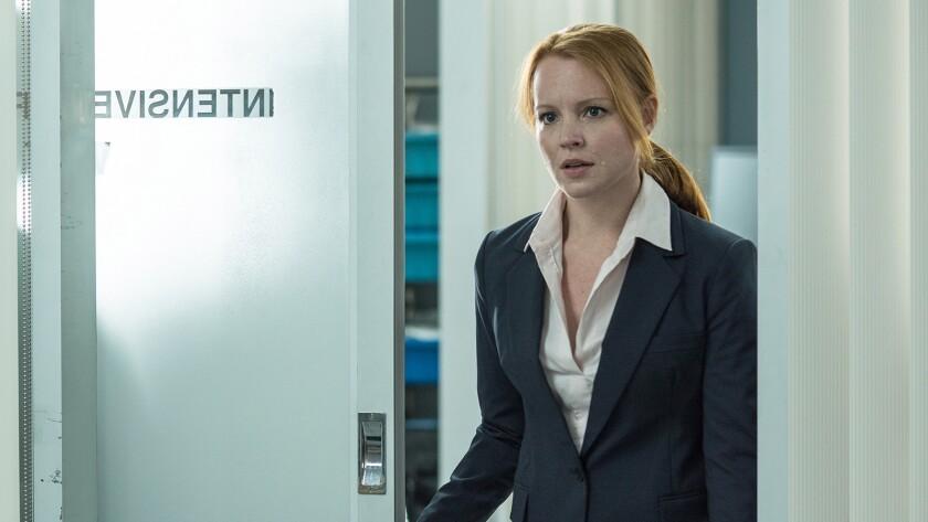 "Lauren Ambrose in ""The X-Files"" on Fox."