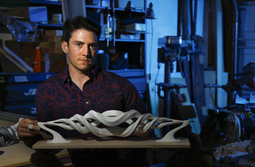 Nico Meyer, a structural engineer, is a sculptor whose work has been displayed both locally and nationally.