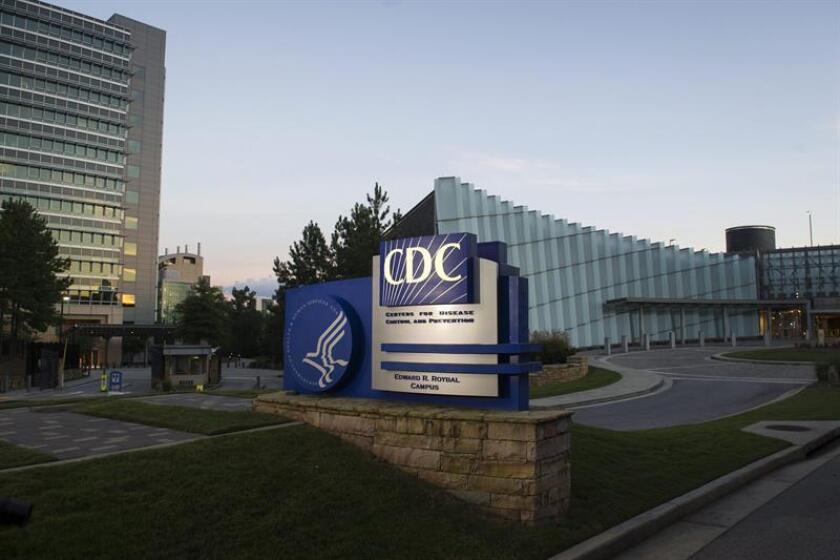 Aspecto de la entrada a los centros para el Control y Prevención de Enfermedades (CDC). EFE/Archivo