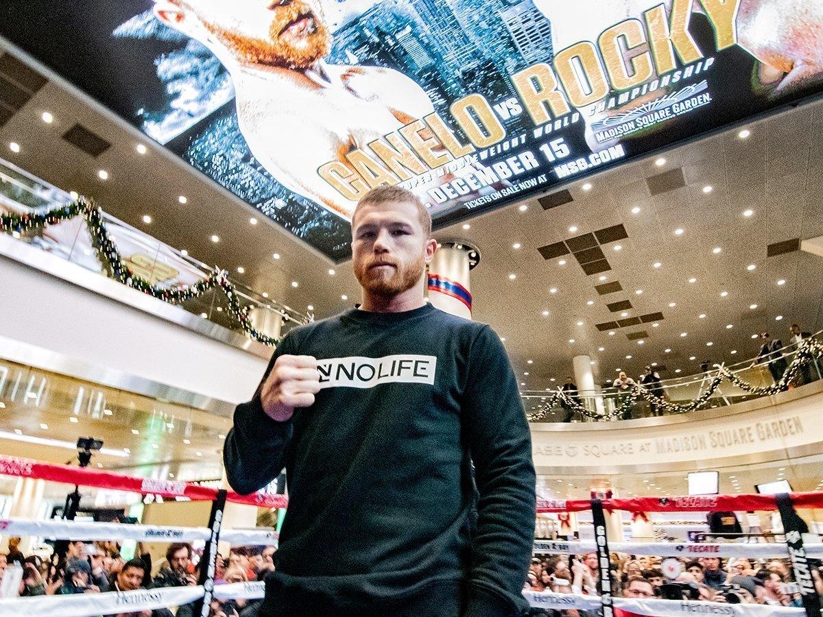 El mexicano Saúl 'Canelo' Álvarez se presentará el 15 de diciembre por primera vez en Nueva York para el pleito contra el inglés Rocky Fielding, por el cetro Supermediano de la AMB en el Madison Square Garden de Nueva York.