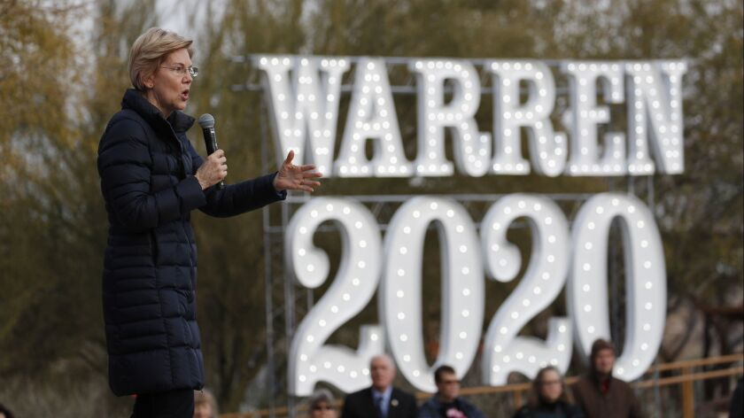 Researchers working for Politico found that online disinformation campaigns have already begun, targeting top Democratic presidential candidates, including Sen. Elizabeth Warren of Massachusetts.