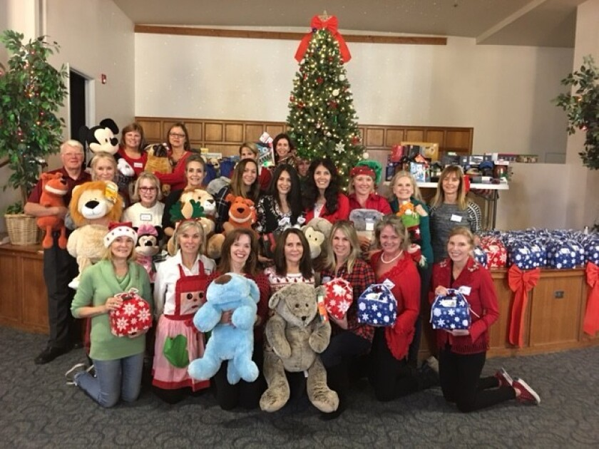 Volunteers of Friends of San Pasqual Academy recently hosted a spectacular Holiday Party for the foster students at San Pasqual Academy.