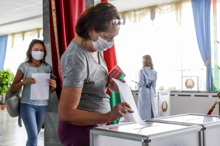 Belarus Poll Workers Tell Of Fraud In Presidential Election Los Angeles Times