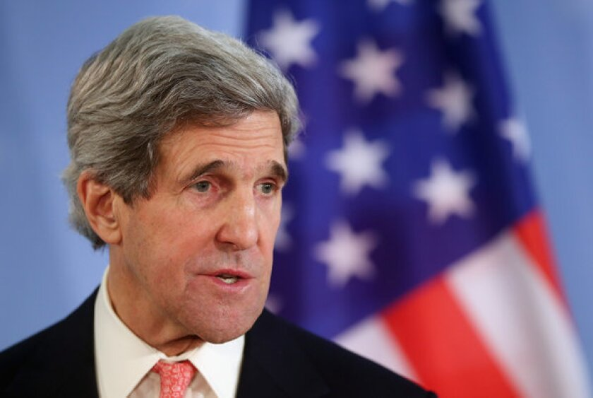 Kerry confronts clashing interests in Syria, Iran and Russia