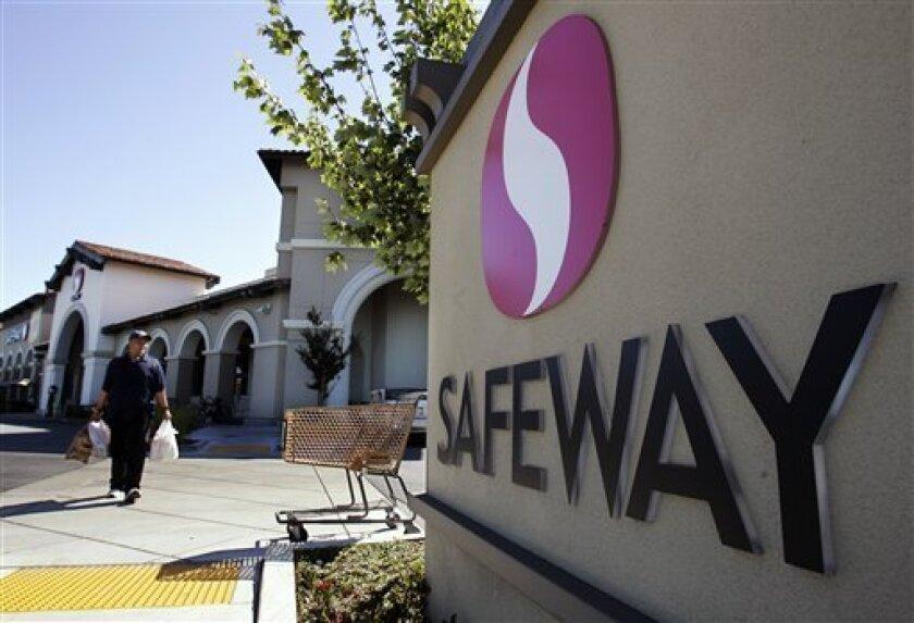 A Safeway store in Menlo Park.