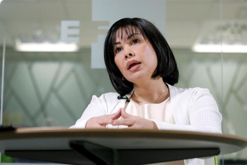 Fotografía donde aparece la ex tesorera venezolana. Claudia Patricia Díaz Guillén. EFE/Archivo