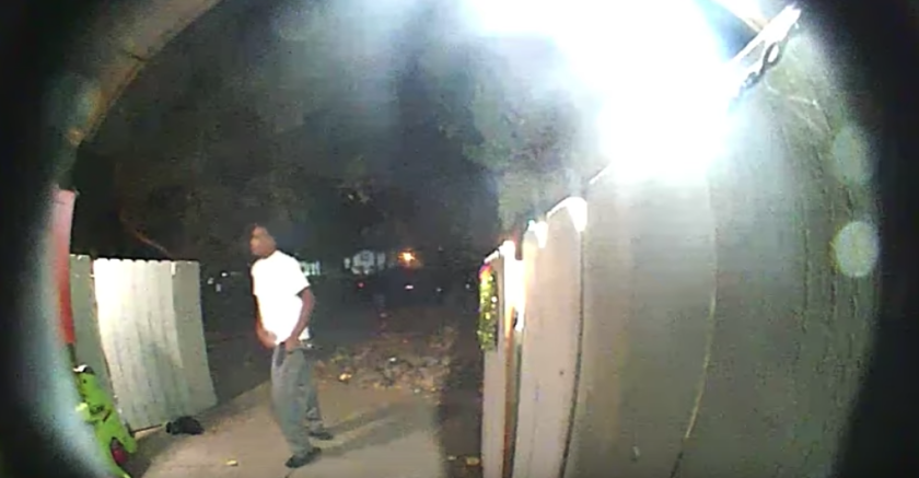 Image from video released by Sacramento County Sheriff's Office