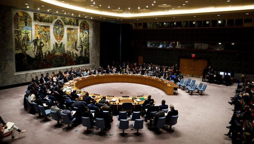La Asamblea General de la ONU rechazó hoy las enmiendas estadounidenses a una resolución contra el embargo sobre Cuba y aprobó el texto propuesto por La Habana con la única oposición de EE.UU. e Israel. EFE/Archivo