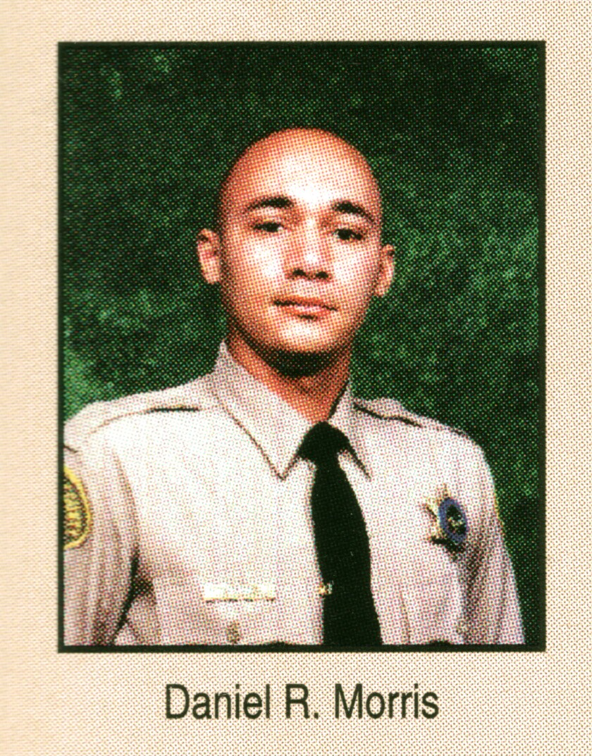 Los Angeles County Sheriff's Det. Daniel Morris