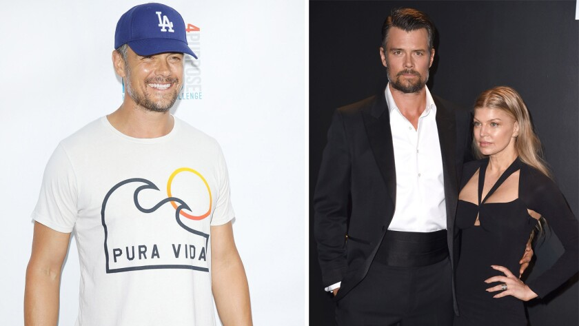 2605e6c34 It's all or nothing with Josh Duhamel: Either jeans and a T-shirt ...