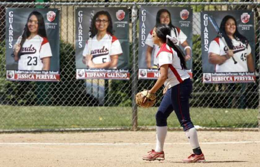 Guards softball moves on to CIF semifinals