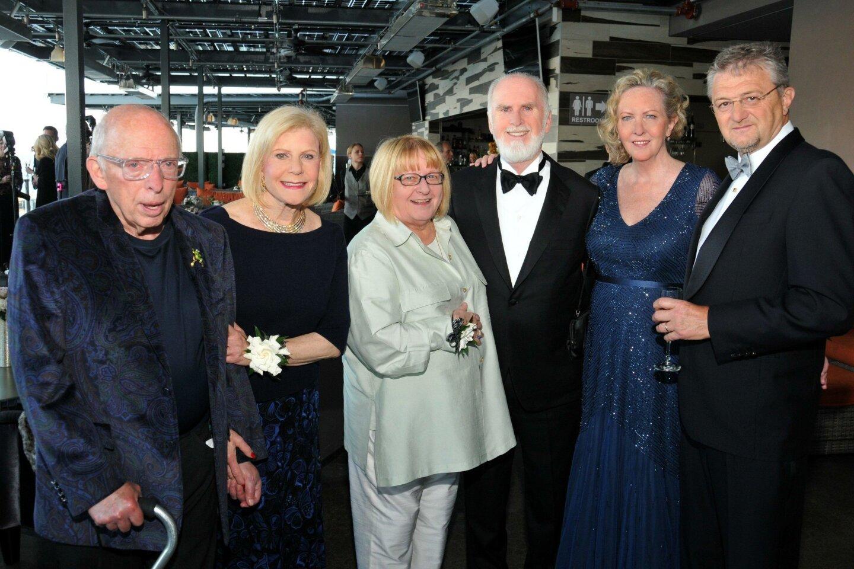 David and Elaine Darwin with Silvija and Brian Devine, LJMS artistic director Kristin Lancino and Thierry Lancino