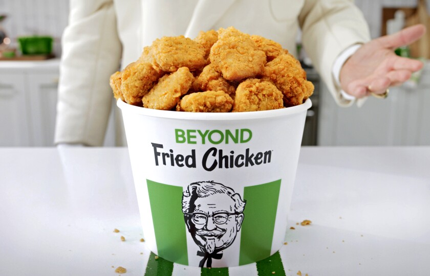 Image result for KFC goes vegan