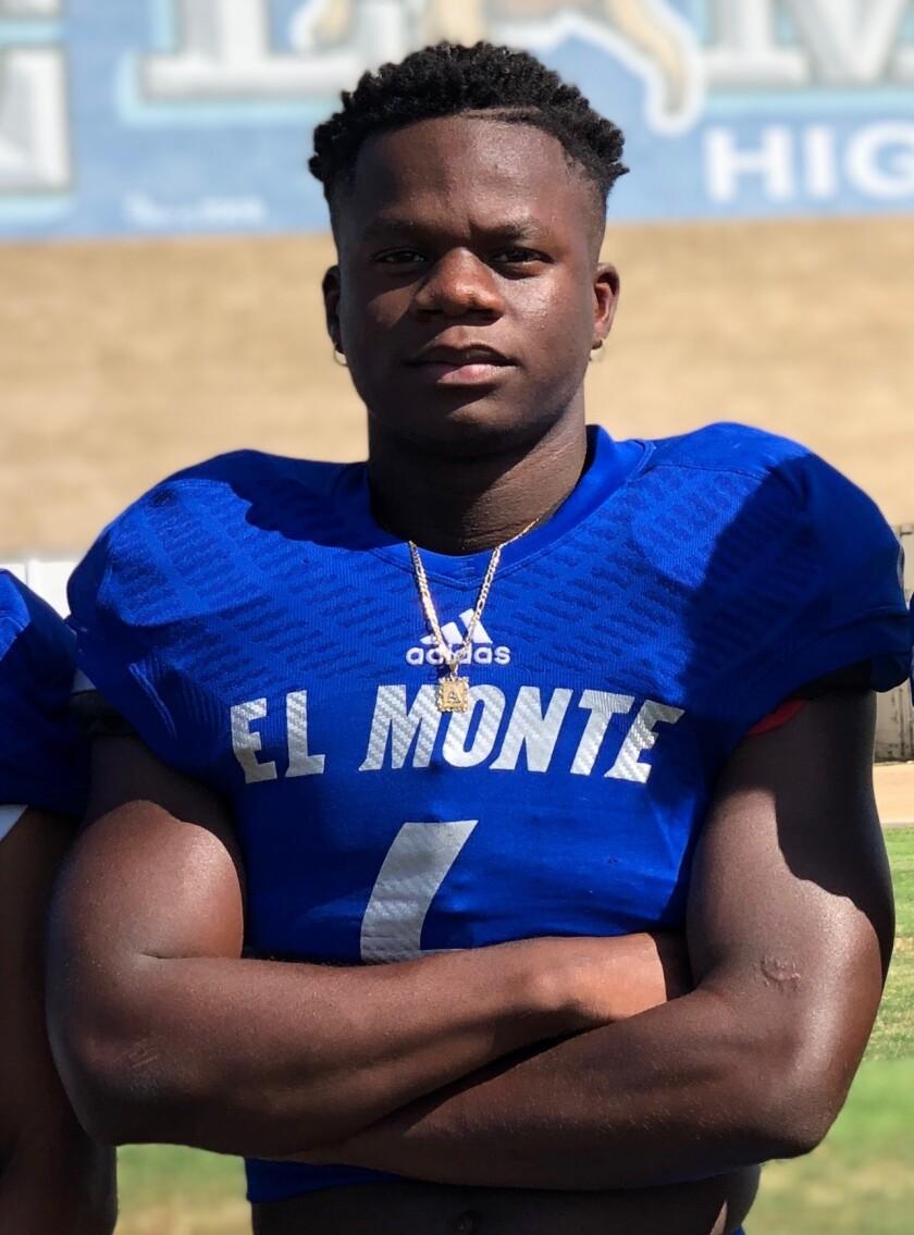 Davon Booth of El Monte
