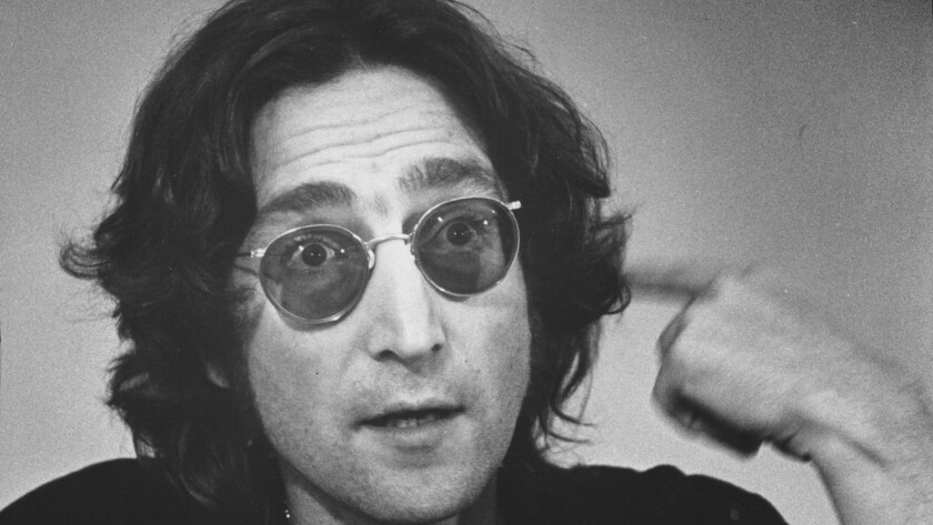 John Lennon in 1974.