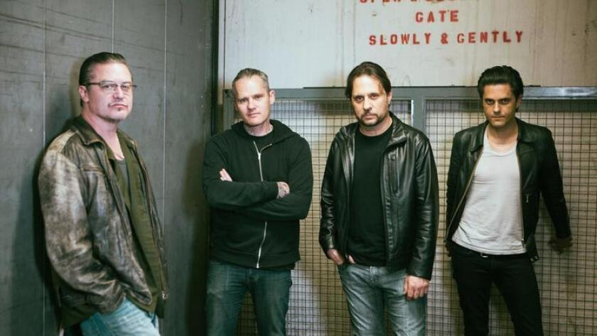 The members of Dead Cross have some impressive credits, including Slayer, Faith No More, The Locust and Retox. (Photo by SAWA)
