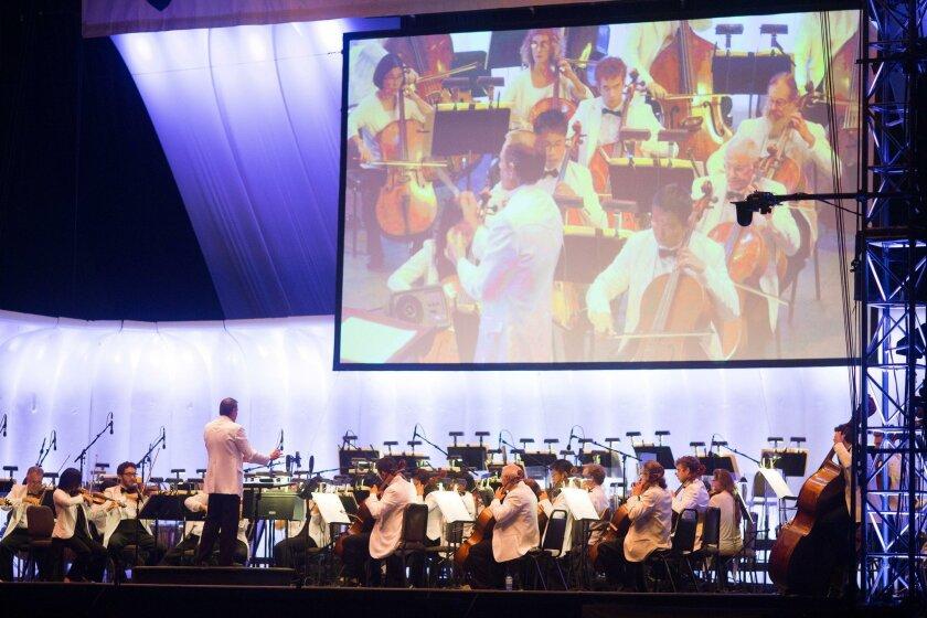 San Diego Symphony Orchestra.