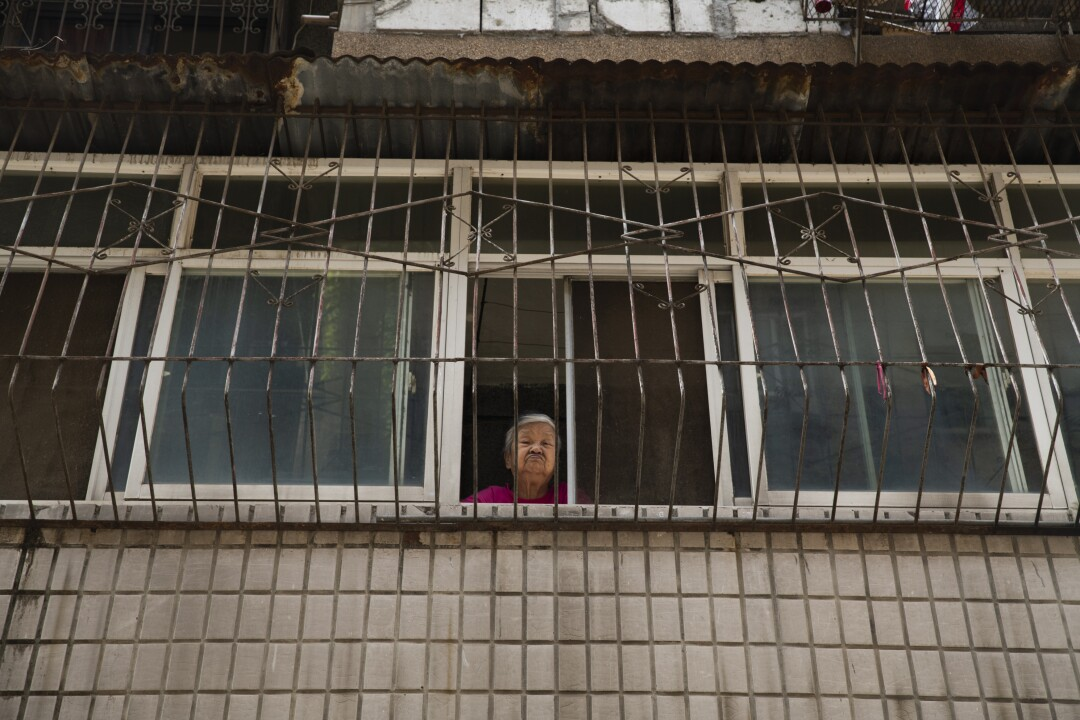 Woman in Wuhan