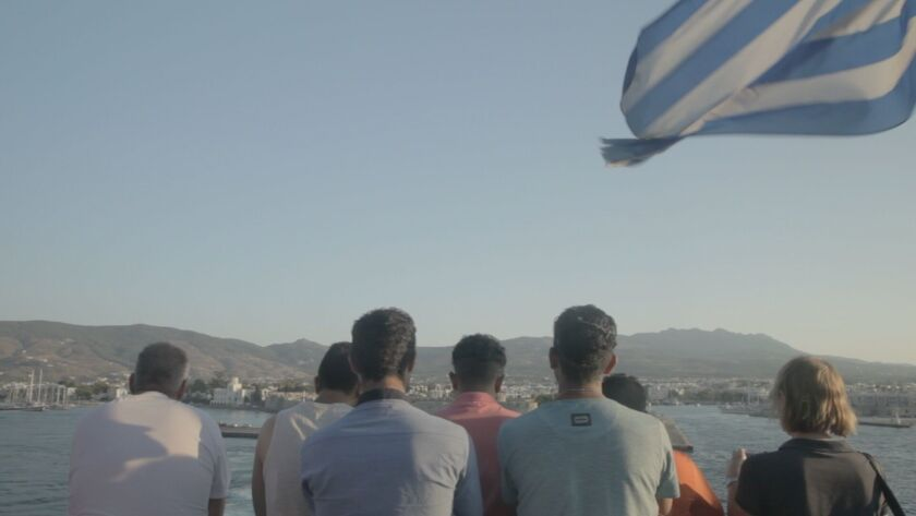 """Notes From the Border,"" a short documentary about Syrian refugees bound for Greece, was part of Field of Vision program on Sunday at the New York Film Festival. Field of Vision co-founder Laura Poitras said the group will provide a new platform for nonfiction filmmaking, some of it spun off current headlines."