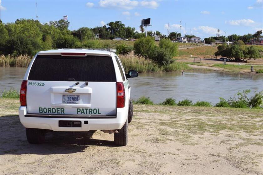 Vista de un vehículo de la patrulla fronteriza de EEUU. EFE/Archivo