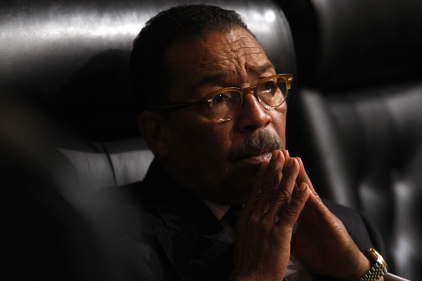 Herb Wesson has served as councilman for the 10th District since 2005 and is City Council president.