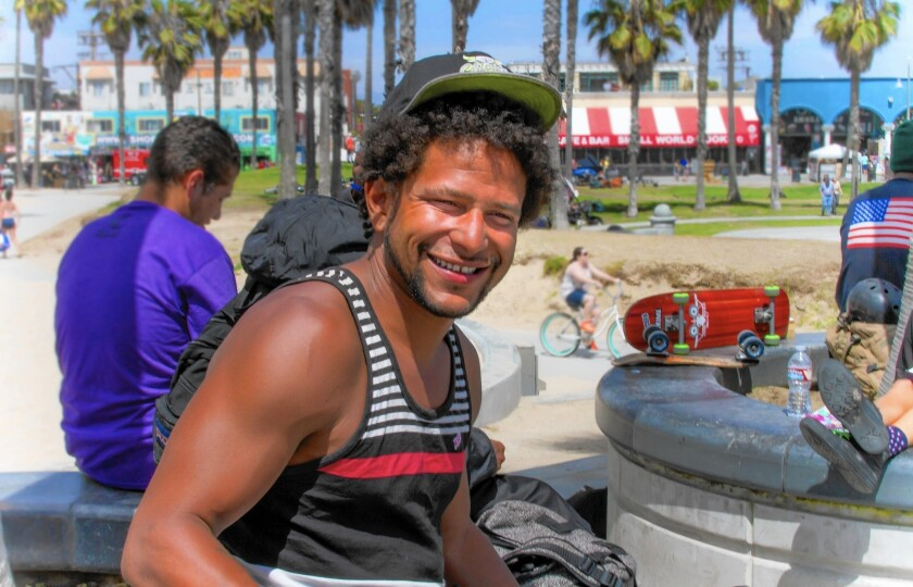 Brendon K. Glenn lived near the Venice boardwalk and often spent days skateboarding at the skate park. He was shot and killed during an altercation with Los Angeles police May 5, 2015.