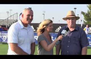Rams open training camp in Irvine
