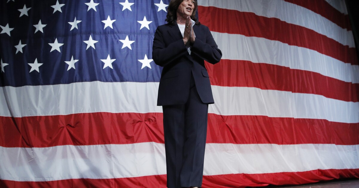 Kamala Harris releases $10-trillion plan to fight climate change - Los Angeles Times