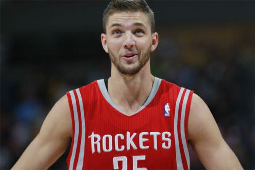 Houston small forward Chandler Parsons still managed to hang 21 on San Antonio even after being involved in a traffic accident before Monday's game.