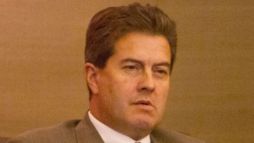 December 12, 2012_Escondido, California_USA_| Escondido City Attorney Jeffrey Epp.|_Mandatory Photo