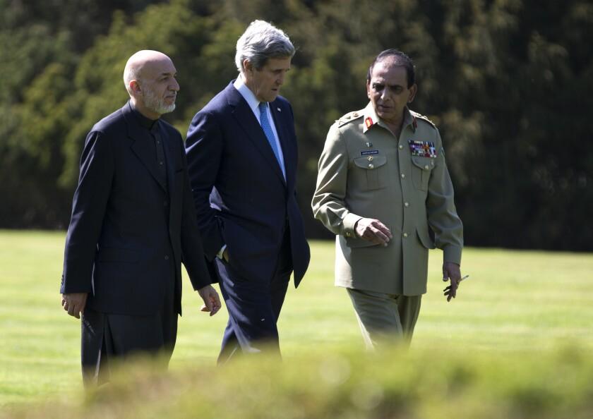 Kerry: Progress, no breakthrough in Afghan-Pakistani talks