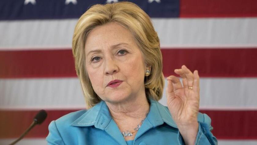 Democratic presidential hopeful Hillary Clinton. (/ Reuters)