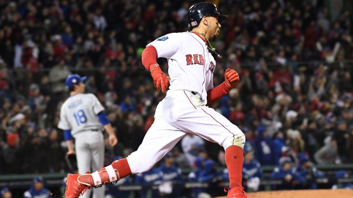 World Series Red Sox Eliminate The Dodgers In Five Games Los Angeles Times