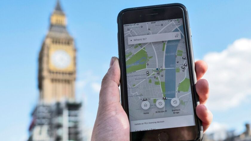 Uber to receive a 15-month license for operating in London, United Kingdom - 22 Sep 2017