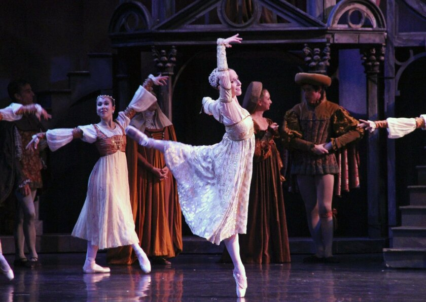 """City Ballet's production of """"Romeo and Juliet"""""""