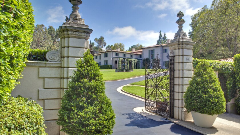 Owlwood Estate Once Home To Sonny And Cher Fetches 90 Million Los Angeles Times