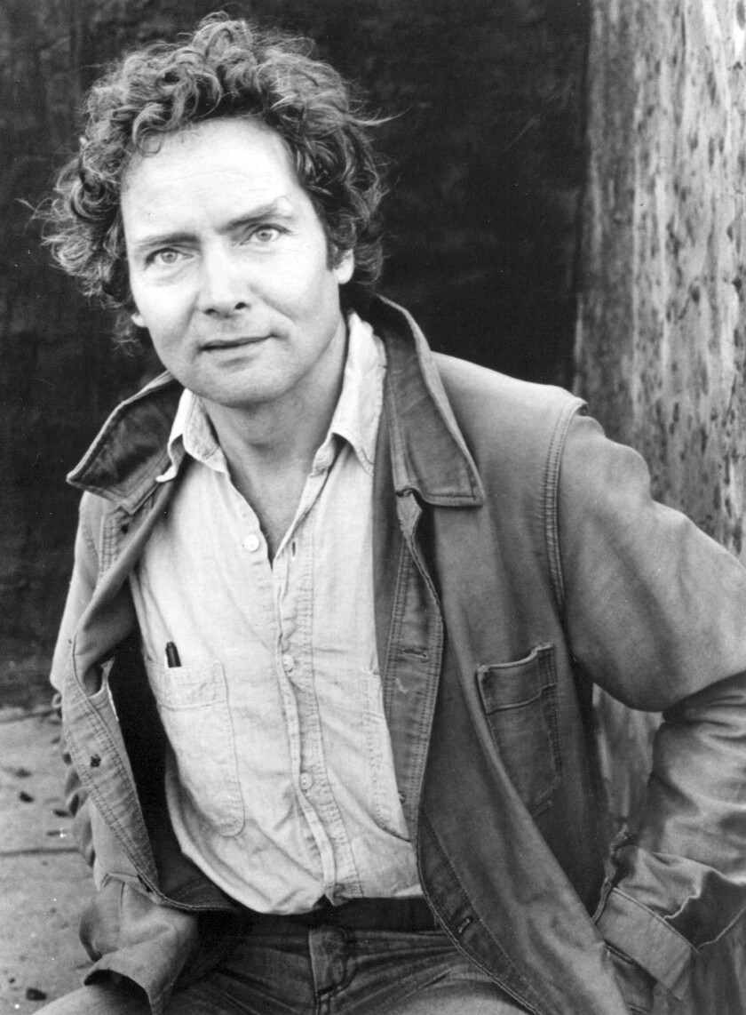 W. S. Merwin. Poet. Photo ©1982 Thomas Victor. From the Times Files.