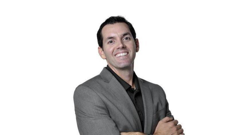 Ryan Silva, owner of Epic Limousine. (Rcik Nocon)