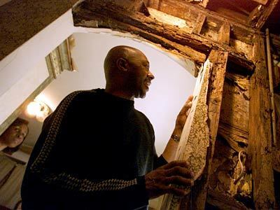 Donna and Russell Merriweather discovered rotting wood after moving into their home.