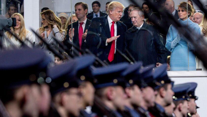 Donald Trump, James Mattis, Melania Trump