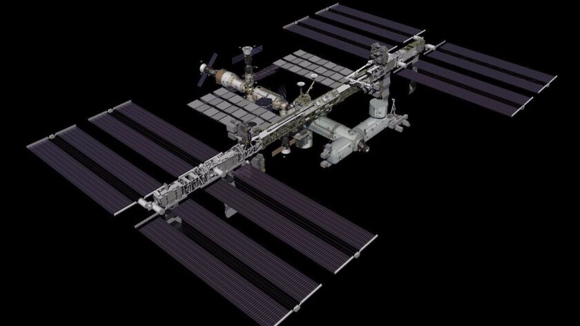 NASA's planned Orbiting Carbon Observatory 3, or OCO-3, was intended to study the distribution of carbon dioxide on Earth. It would be eliminated under Trump's budget proposal.