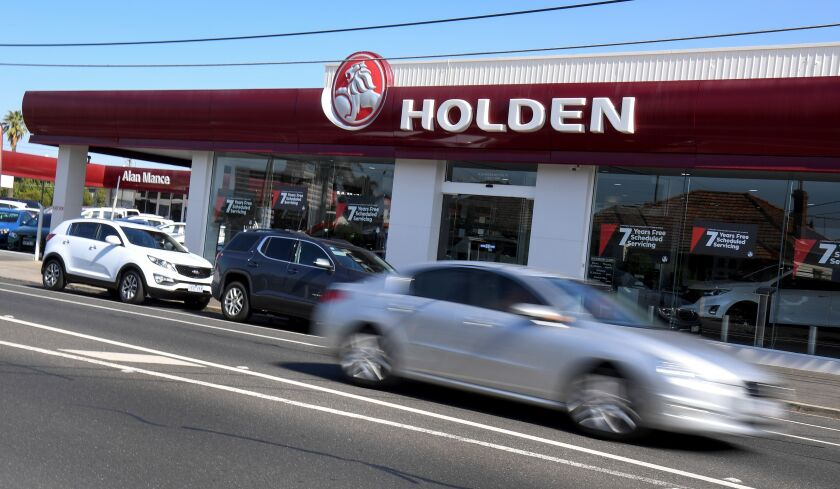 GM's Holden brand